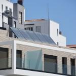 Balkon aus Edelstahl Konstruktion
