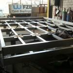 Stahlbaukonstruktion InoxUK für Inoxwand