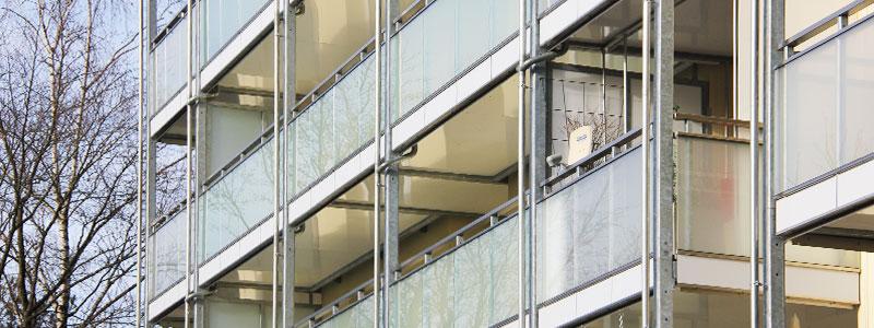 Balkonfassade Ansbach