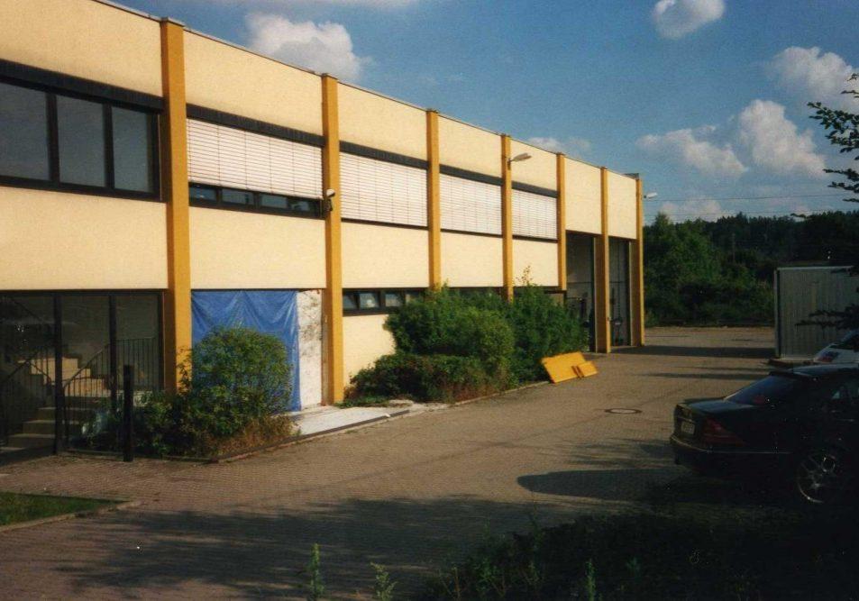 Großes Industriegebäude als neues Firmengebäude von Koch Metallbau 1999