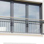 Französischer Balkon aus Metall
