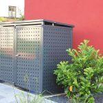 Müllboxen aus Metall